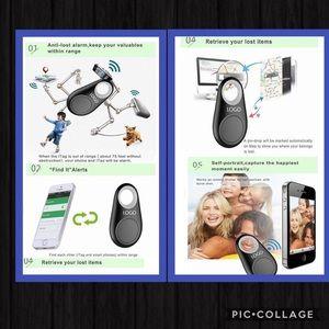 Accessories - Pink Bluetooth GPS Tracker 💜💜